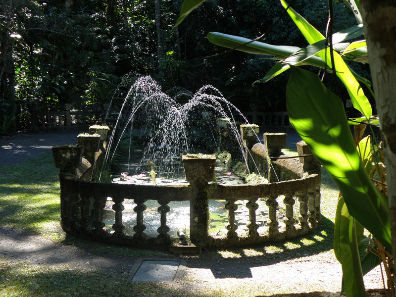 Paronella Park fountain